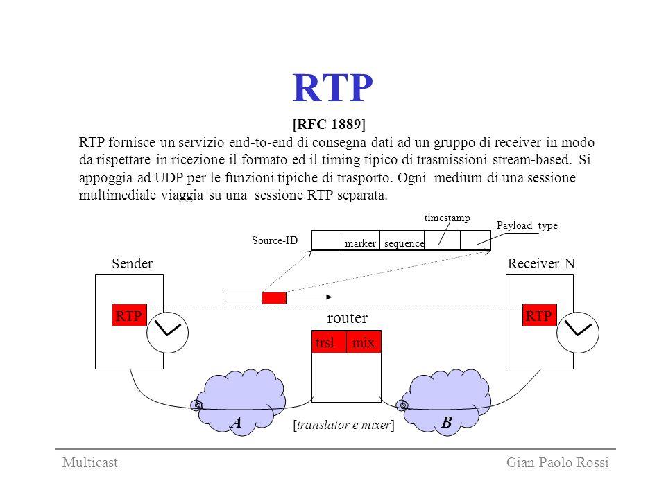 RTP [RFC 1889]